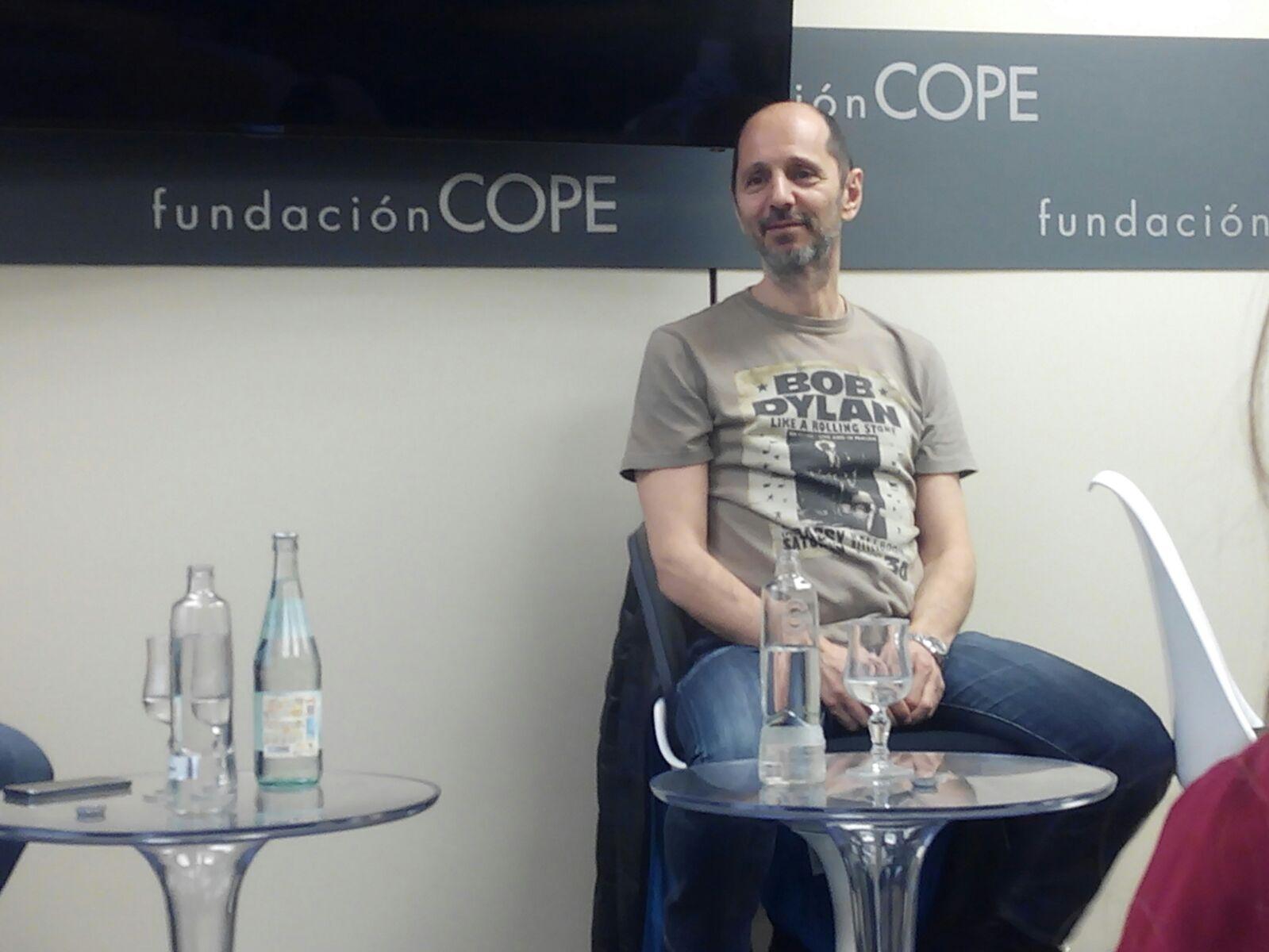 Alejo Stivel en la Fundación COPE