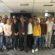 Fernando Giménez Barriocanal, con los alumnos del Máster COPE de radio